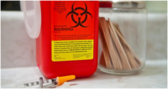 Medical Waste Disposal Containers Image
